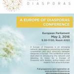 Europe of Diaspora Conferences1